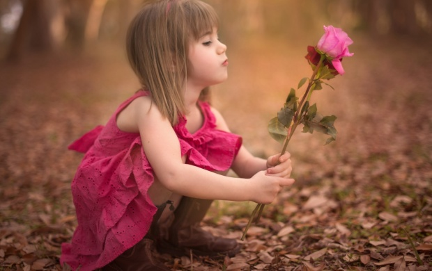 Autumn Baby Girl Rose Flower (click to view)