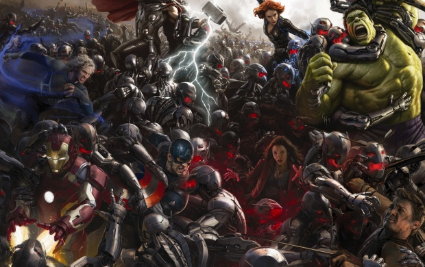 Avengers: Age Of Ultron 2015 Poster (click to view)