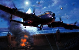 Avro Lancaster - Attack On The Dam