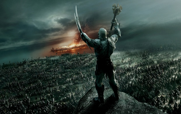 Azog The Defiler In The Hobbit 2014 (click to view)