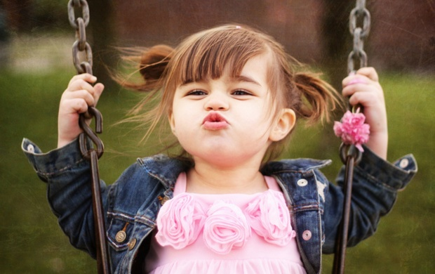 Baby Girl Kisses (click to view)