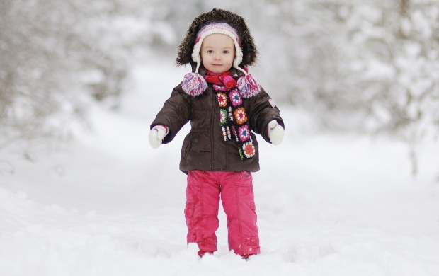 Baby In Snowcoat (click to view)