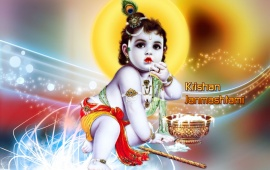 Baby Krishna (click to view)
