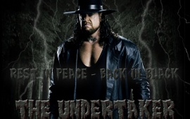 Back In Black The Undertaker