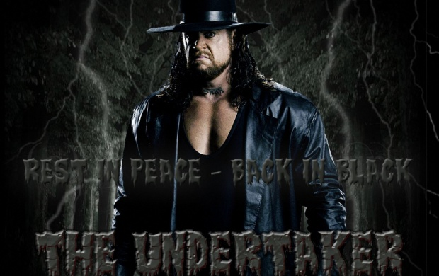 Back In Black The Undertaker (click to view)