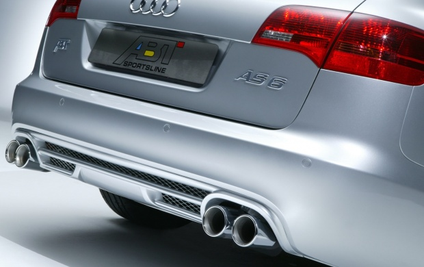 Back side 2005 Audi AS6 Avant (click to view)