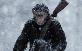 Badass Caesar War For The Planet Of The Apes 2017
