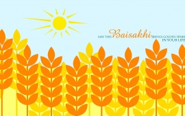 Baisakhi Illustration