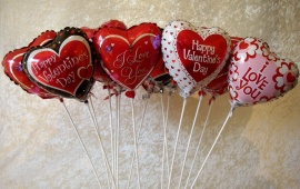 Balloons Valentines Day