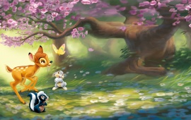 Bambi Disney Cartoon