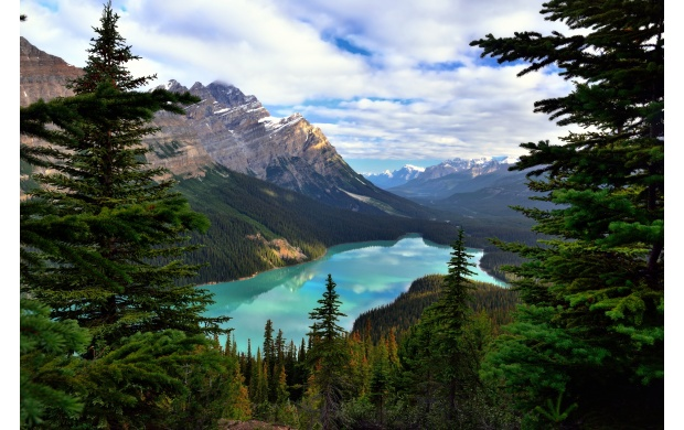 Banff National Park in Canada (click to view)