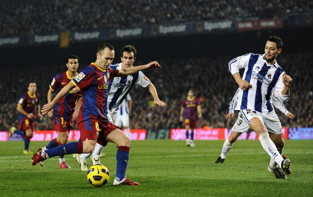 Barcelona V Real Sociedad (click to view)