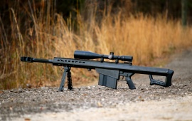 Barrett M82 Semi-Automatic Large-Caliber Sniper Rifle
