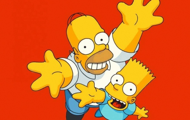 Bart And Homer (click to view)