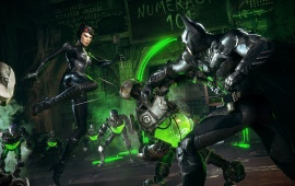 Batman And Catwoman Batman Arkham Knight Fight