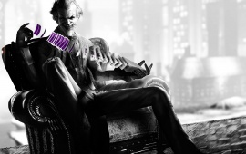 Batman Arkham City Joker Cards Smile Villain