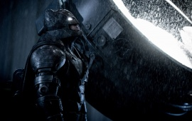 Batman v Superman Dawn of Justice Rain
