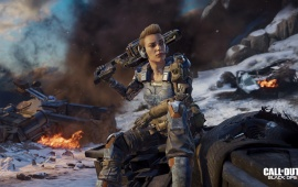 Battery Call Of Duty Black Ops 3 Specialist 4k Girl Soldier