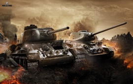 Battlefield In World Of Tanks 2013