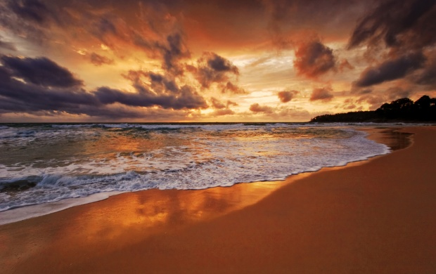 Beach Sunset (click to view)