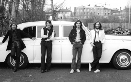 Beatles Rolls Royce