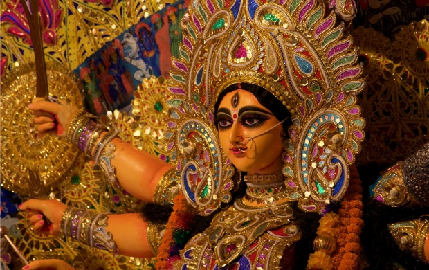 Beautiful Durga Maa (click to view)