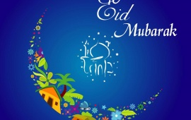Beautiful Eid Card
