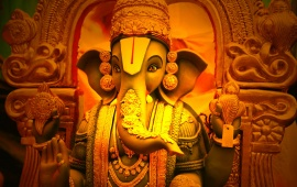 Beautiful God Ganeshji