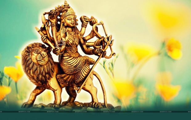 Beautiful Goddess Durga Statue (click to view)