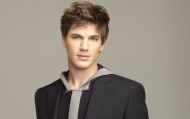 Beautiful Matt Lanter In Black