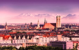 Beautiful Munich City Germany