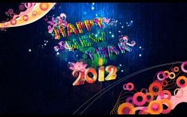 Beautiful New Year 2012