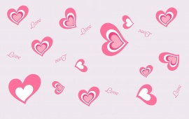 Beautiful Pink Romantic Heart