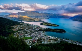 Beautiful Queenstown New Zealand
