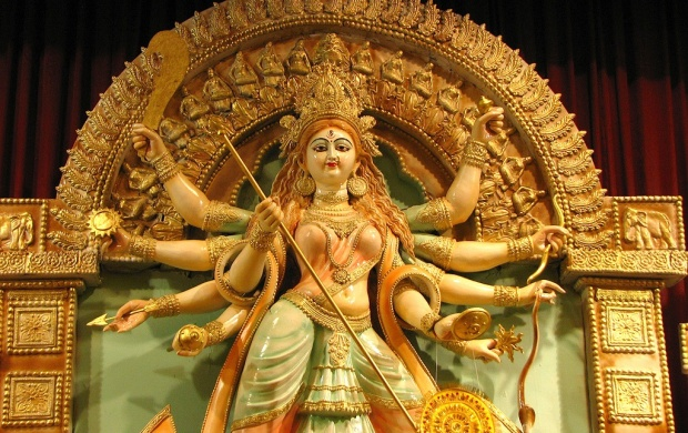 Beautiful Statue Durga Puja (click to view)