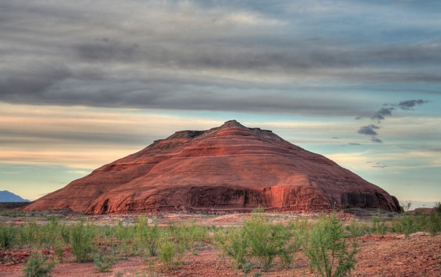 Beautigul Red Mountain (click to view)