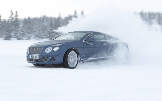 Bentley Continental GT On The Silver Land (click to view)
