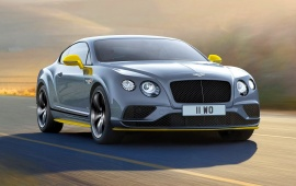 Bentley Continental GT Speed Black Edition 2017