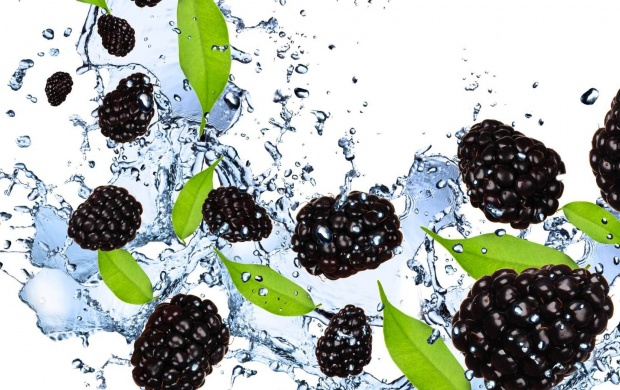 Berries Fruits In Water (click to view)