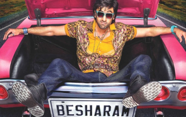 Besharam First Look (click to view)