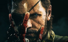 Big Boss Metal Gear Solid V