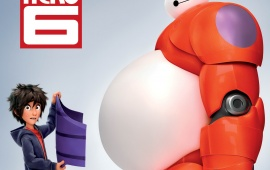 Big Hero 6 Disney Poster