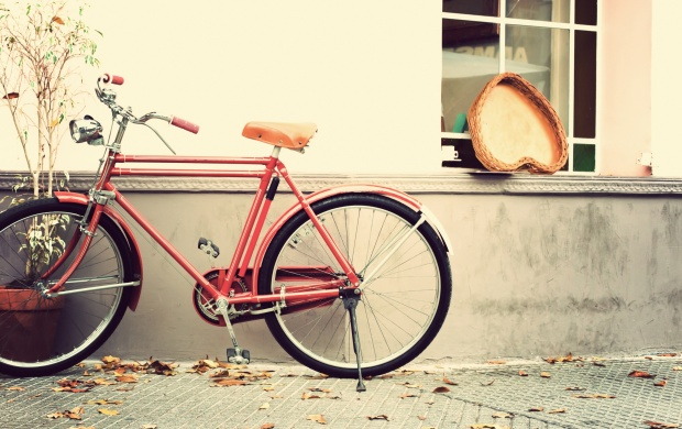 Bike Heart Vintage Love (click to view)