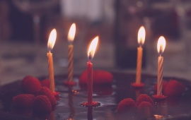 Birthday Cake Candles Celebration