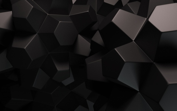 Black Abstract Shapes (click to view)