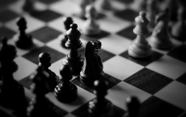 Black And White Chess
