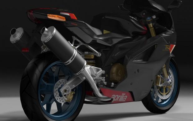 Black Aprilia (click to view)