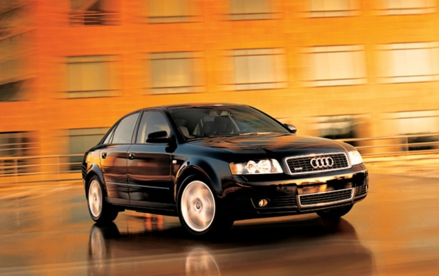 Black Audi A4 (click to view)