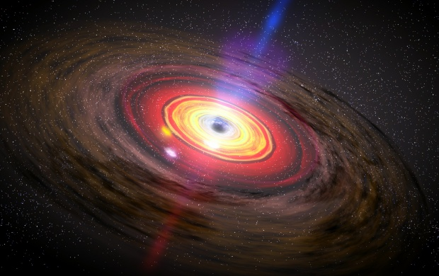 Black Hole Of Spacetime (click to view)