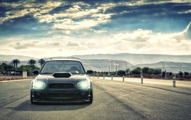 Black Subaru Impreza Wallpapers